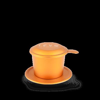 Phin nhôm màu cam